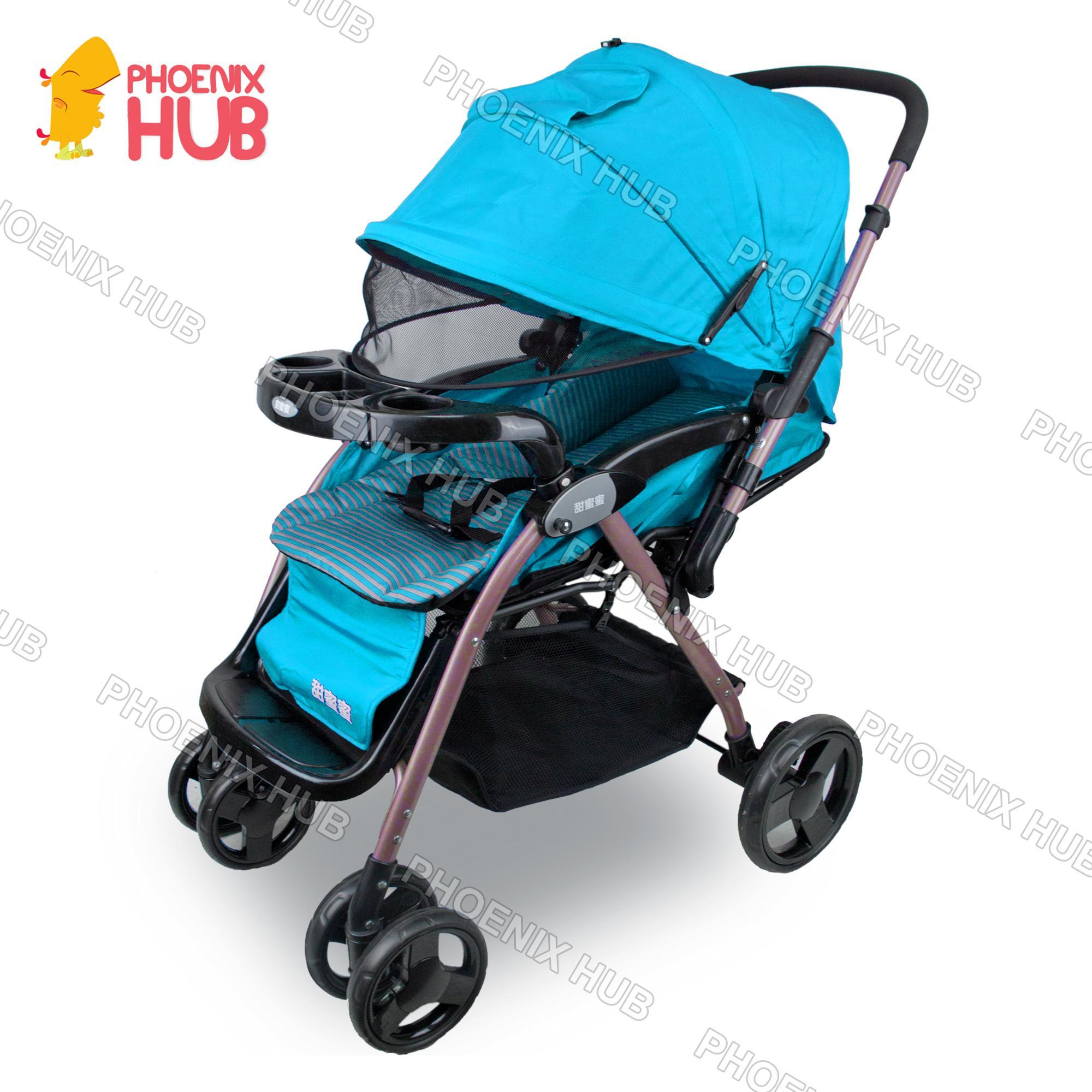 Justin C270a Stroller Foldable Stroller Push Chair Baby Trolley Baby Pram By Phoenix Hub.