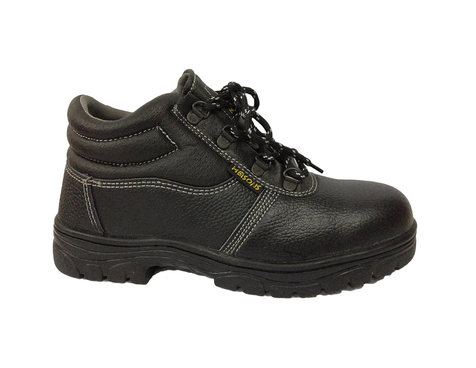 Meisons Safety Shoes Hi Cut Eur 44 With Steel Toe By Meisons Equipments.
