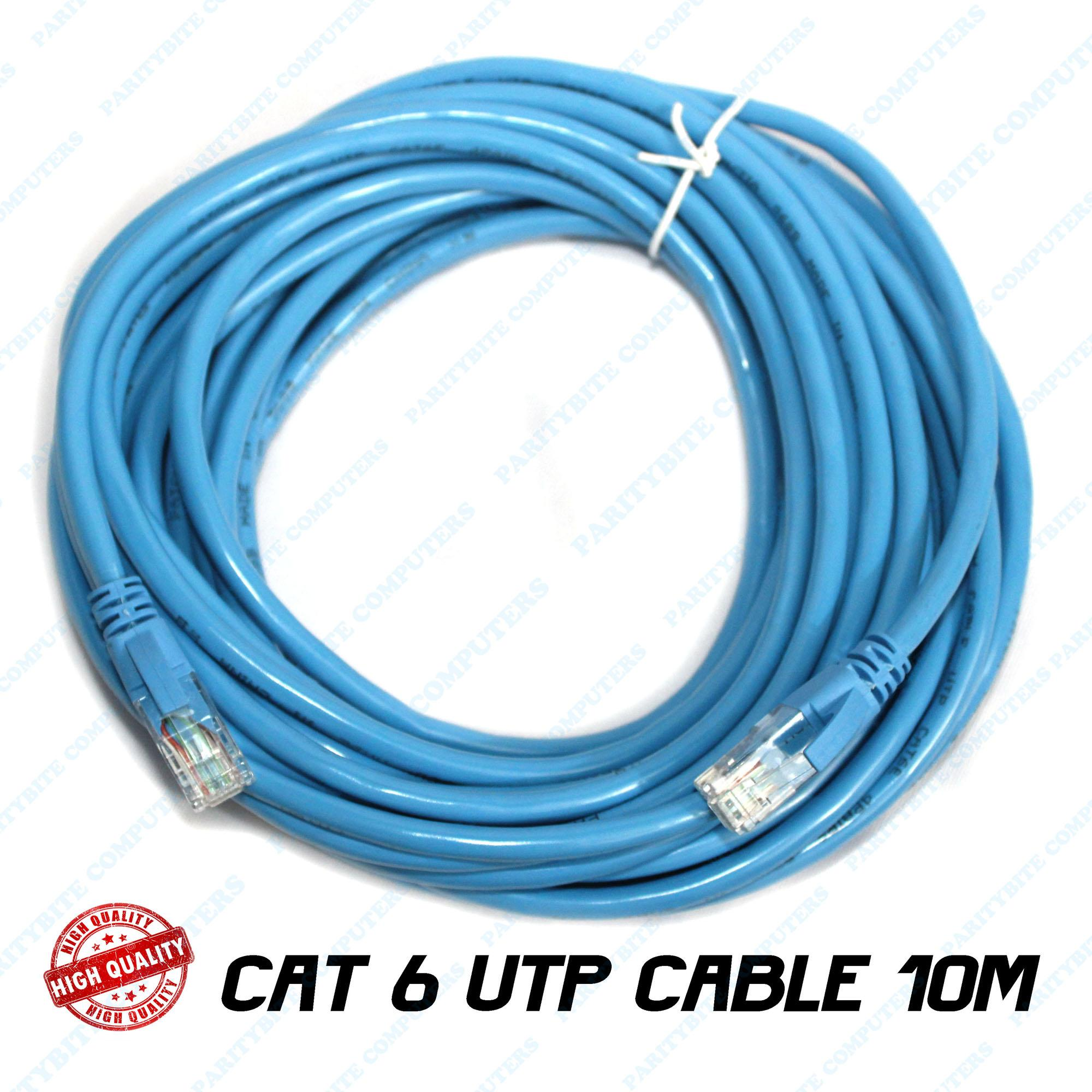 Ethernet Cable For Sale Etherner Adapters Prices Brands Specs Utp Wiring Patch Cord With Rj45 Cat6 10m