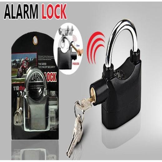 Fashionline  High Quality Alarm Lock Anti Theft Security System Padlock 110Db Hardened Steel Philippines