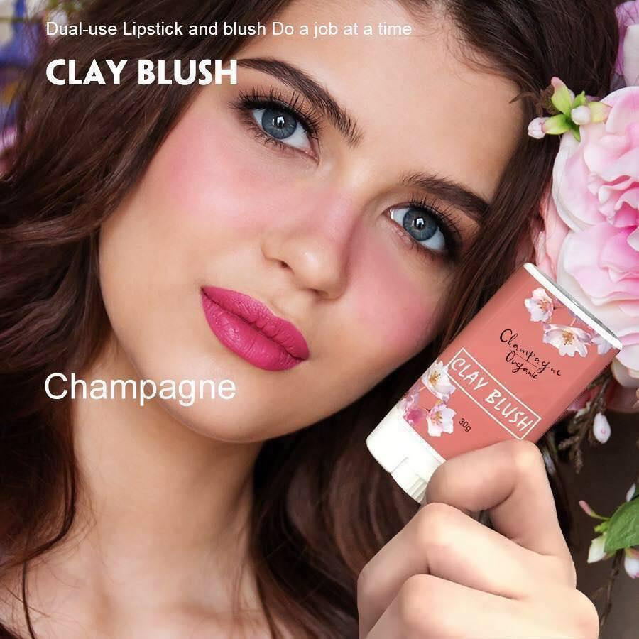 Organic Clay Blush 30g By Hong Kong Value Shop.