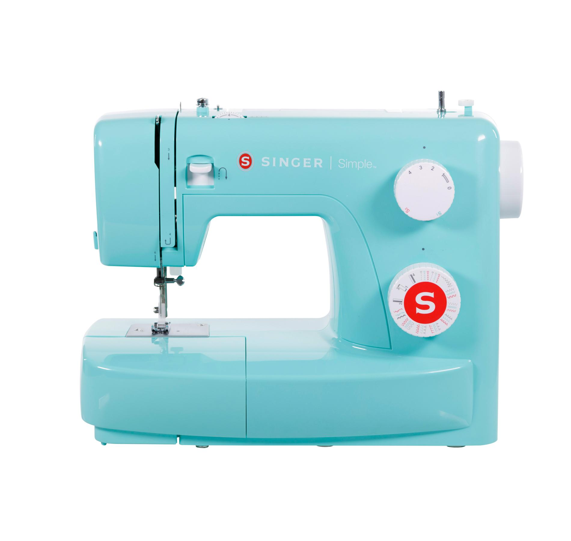 Singer 3223 Green Portable Sewing Machine with 23 stitches.