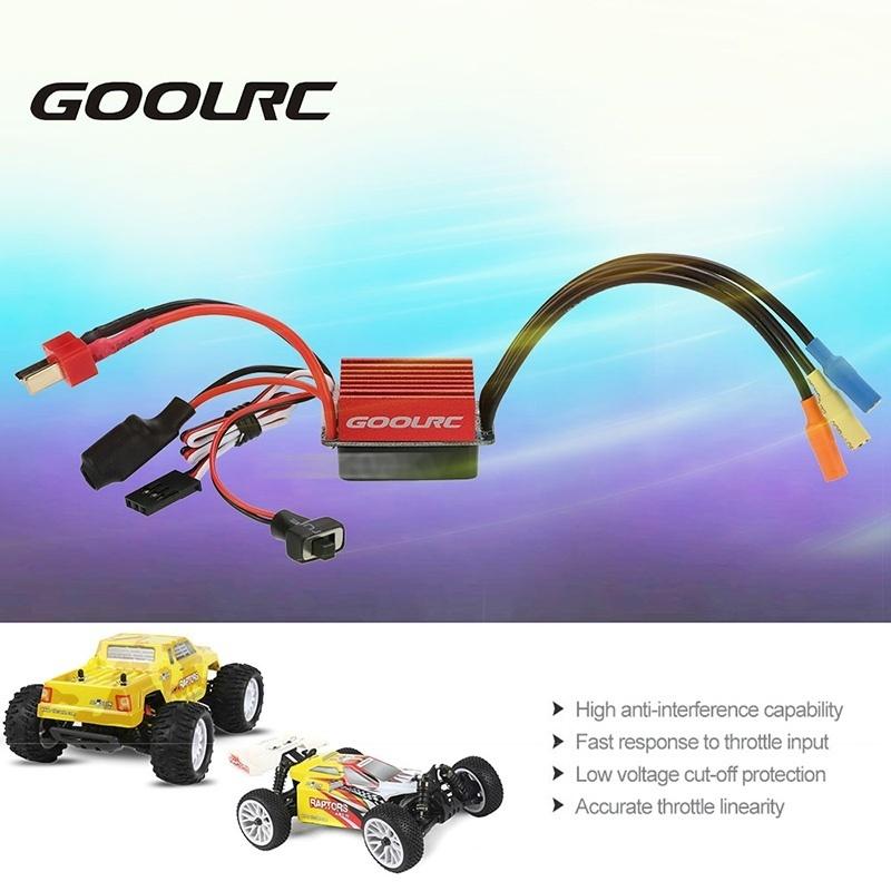 GoolRC S2838 4500KV Brushless Motor 35A ESC 3 5kg Servo Combo Set for 1/12  1/14 RC Car - intl