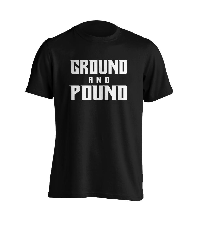 0a5bdc7d6b6 Ground and Pound Mixed Martial Arts Shirt UFC One Championship URCC  Bellator Shirt