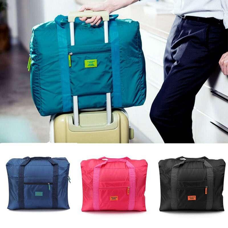 d3fc34f38f00 Foldable Travel Luggage Waterproof Nylon Bag-Edison Online Shop