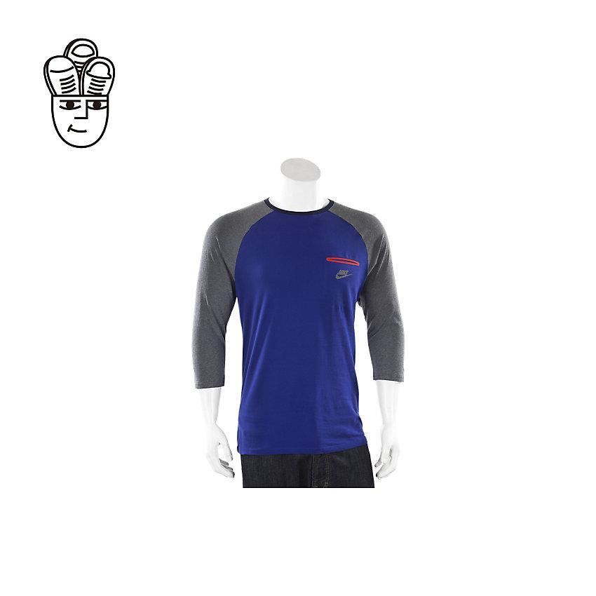 best sneakers 5a74b 31124 Nike Bemis Pocket Raglan Shirt Men 799340-455 -SH