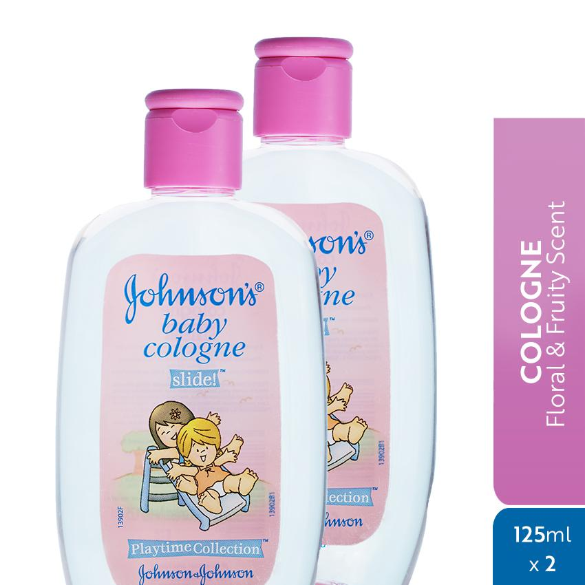 Johnsons Baby Cologne Slide 125ml X 2 By Johnson & Johnson Ph Official Store.