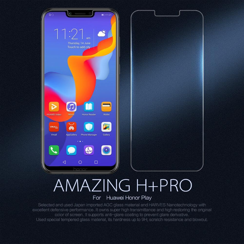 Huawei Nova 3i / Nova 3 Nillkin H+ Pro Tempered Glass with Free Camera Lens Protector