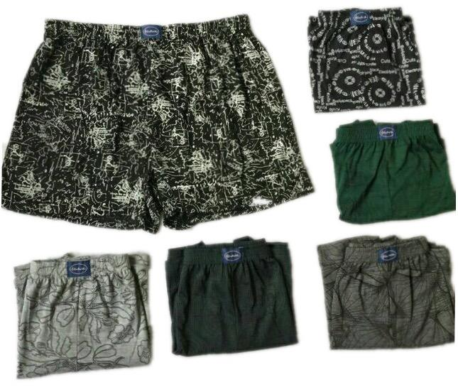 High Quality Doremi Boxer Short For Men (6pcs Per Pack) By Zhian Shop.