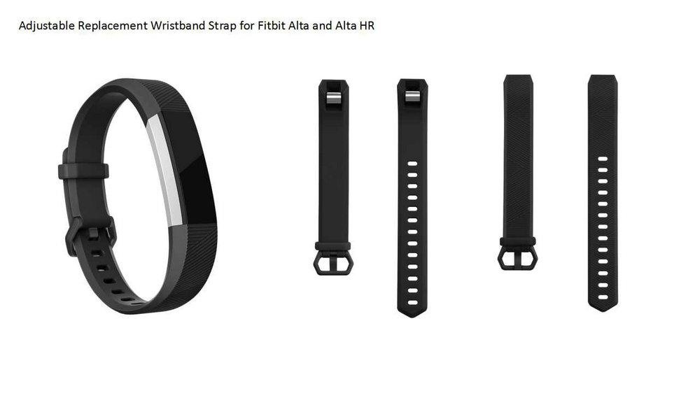 3 Different Colors Pack Replacement Straps Wristbands for Fitbit Alta HR  Fitbit Alta Fitbit Ace