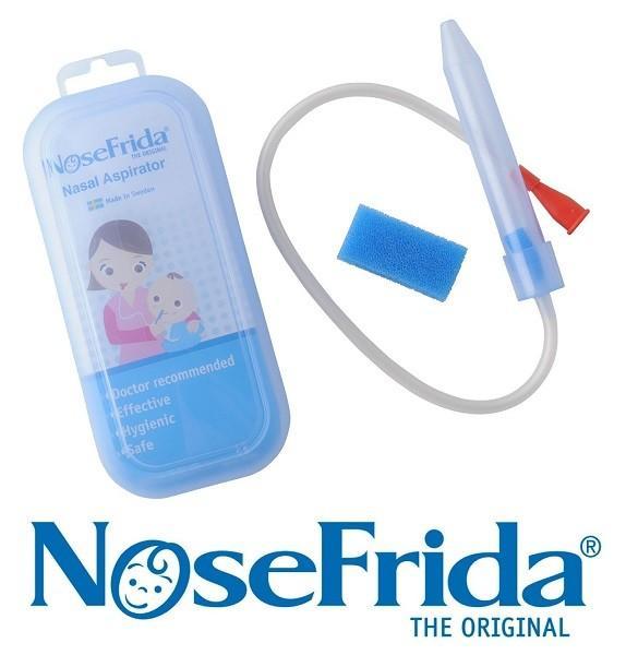 Shipped from UK Made in Sweden Nosefrida Nasal Aspirator