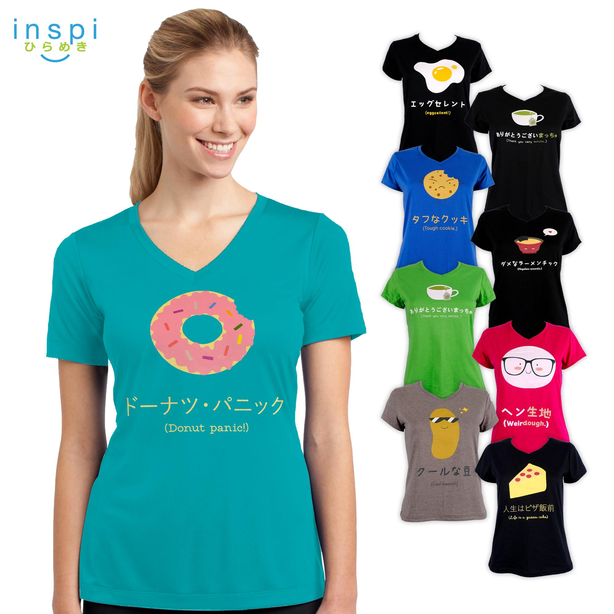 829791175 INSPI Tees Ladies Food Pun Collection tshirt printed graphic tee Ladies t  shirt shirts women tshirts