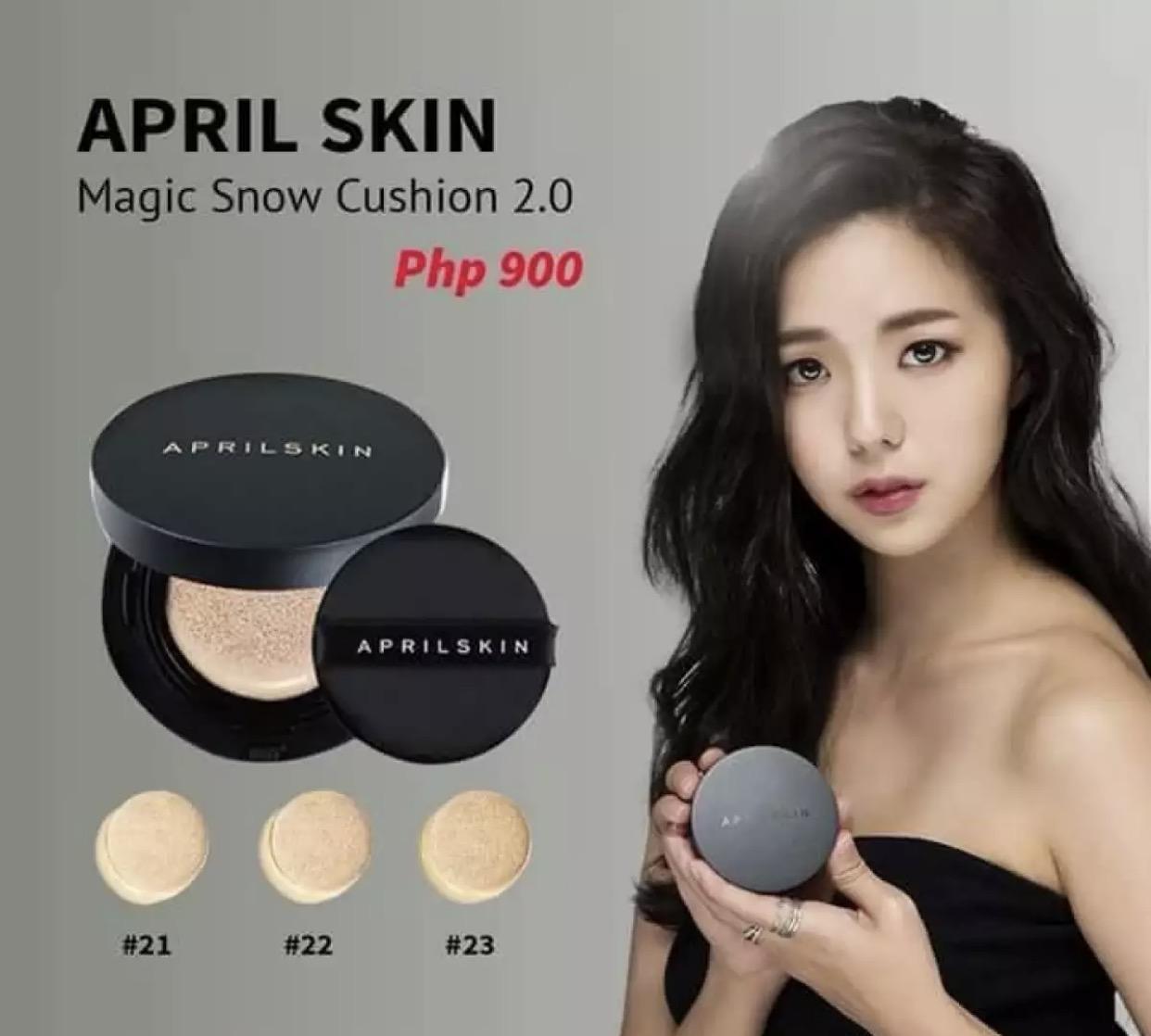 Aprilskin Black Magic Snow Cushion April Skin Philippines
