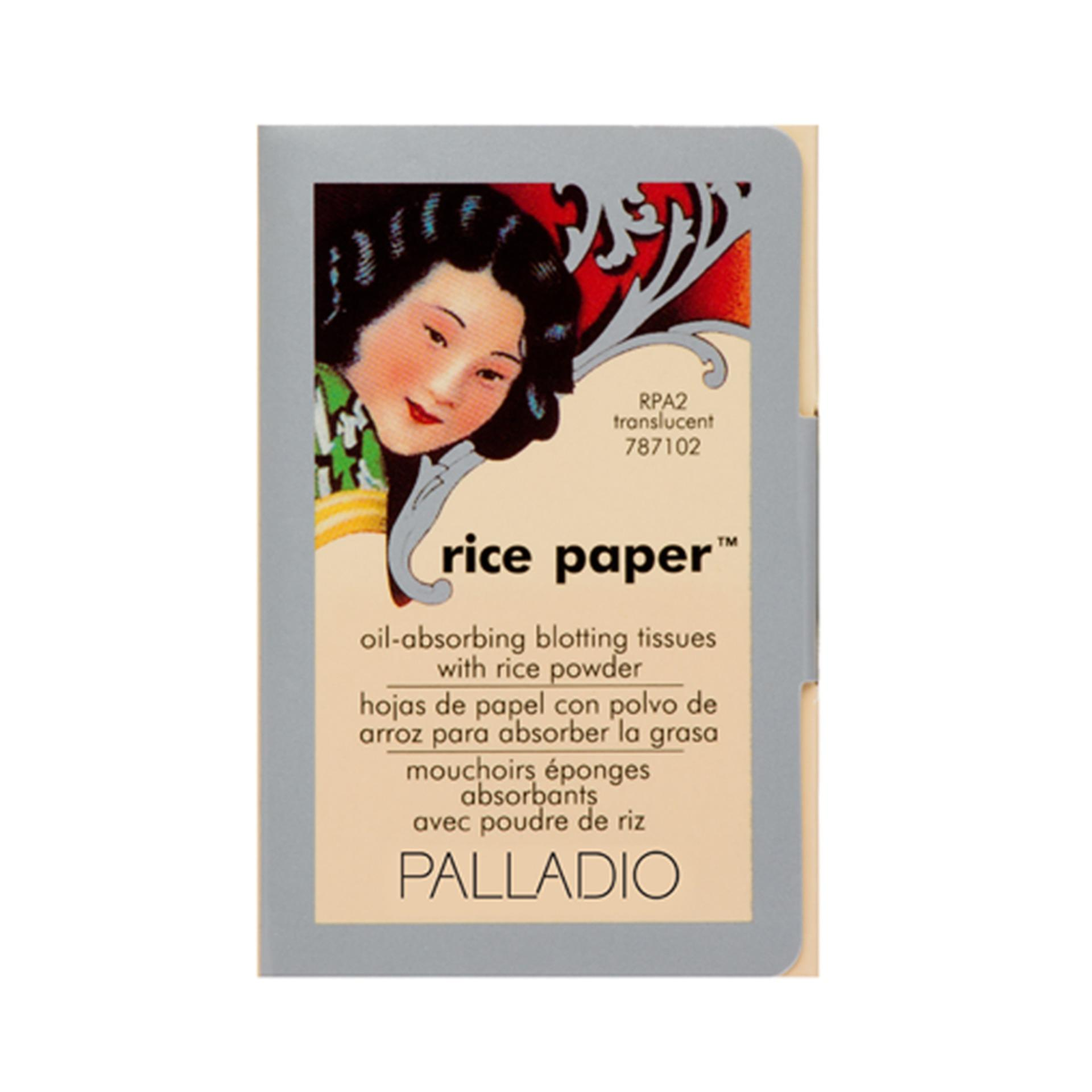 PALLADIO Translucent Rice Paper Philippines