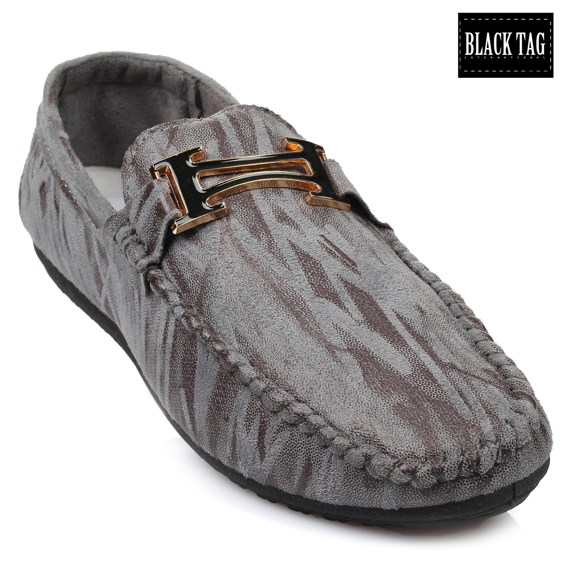 Black Tag Russel D06 Casual/Formal Slip-on Leather Shoes