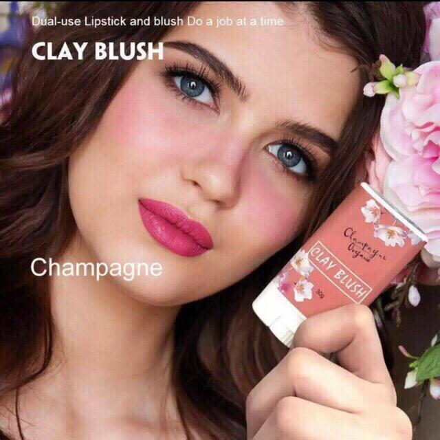 COD Original Sun Kissed Automn Clay Blush Luna Clay Brush 30g Philippines