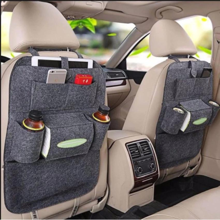 Buy 1 Take Auto Car Back Seat Storage Bag Cover Organizer Holder Bottle
