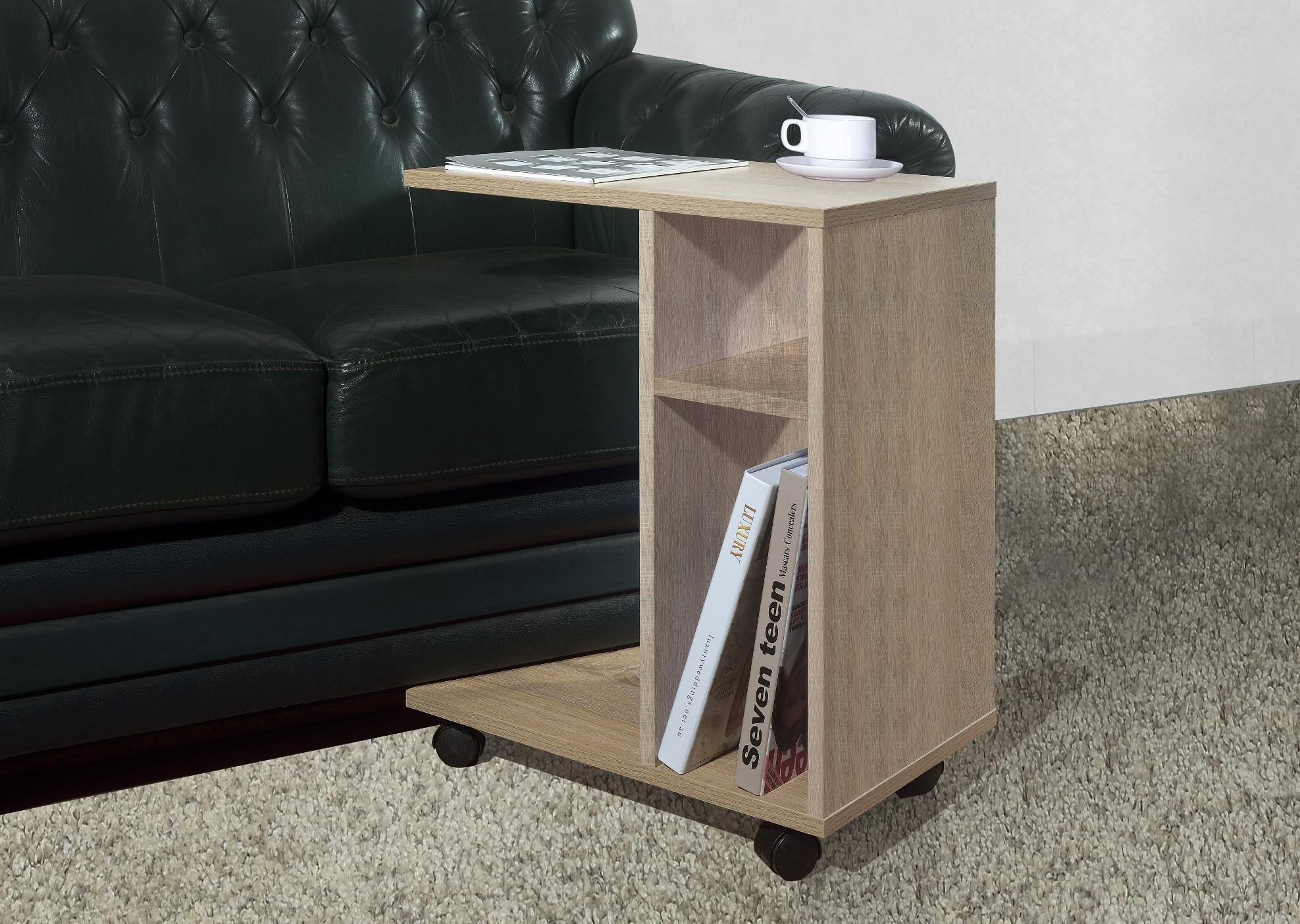Primetime Modern Living Room Rolling Side Table By Direct2u.