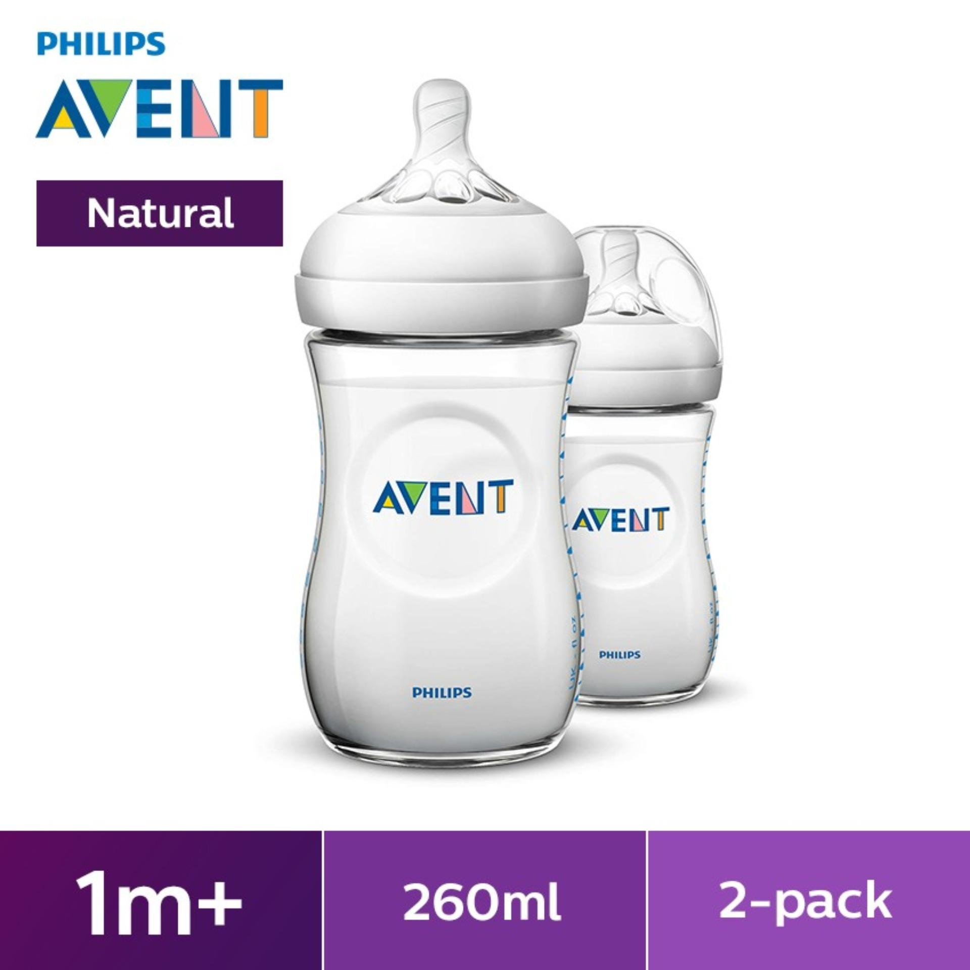 Philips Avent Natural 9oz Bottle Twin Pack By Lazada Retail Philips Avent.