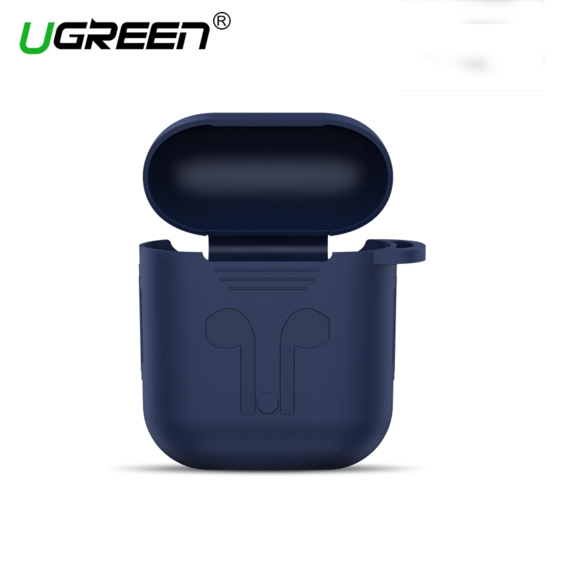 UGREEN Earphone Case for Apple AirPods Silicone Cover Wireless Bluetooth Headphone Air Pods Pouch Protective AirPod