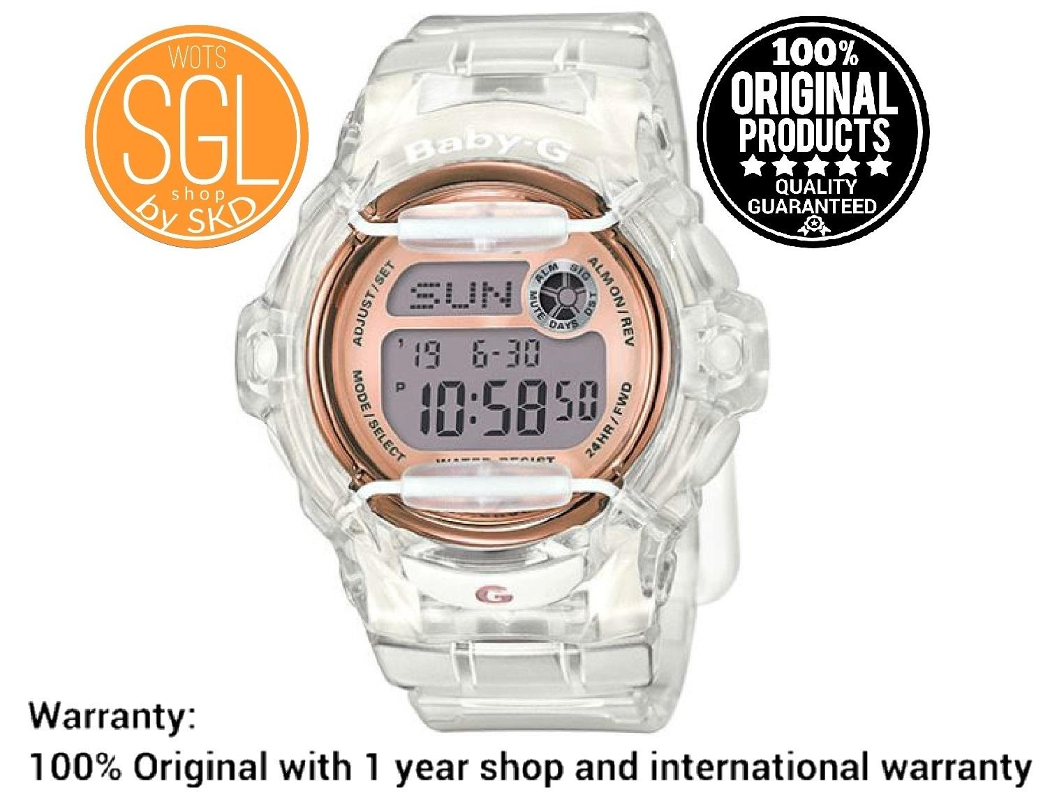 Casio Baby G Philippines Price List Jam Tangan Cewek Bga 180 3b Original Digital Watch Transparent Band Bg169g 7b Sgl Wots Shop