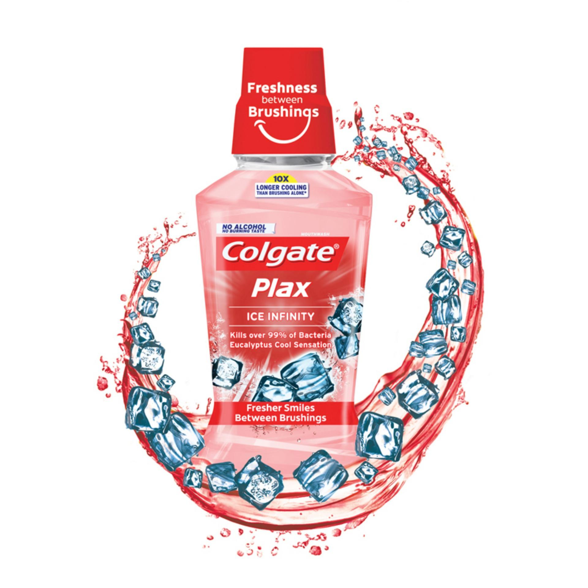 Colgate PLAX Ice Infinity (Red)