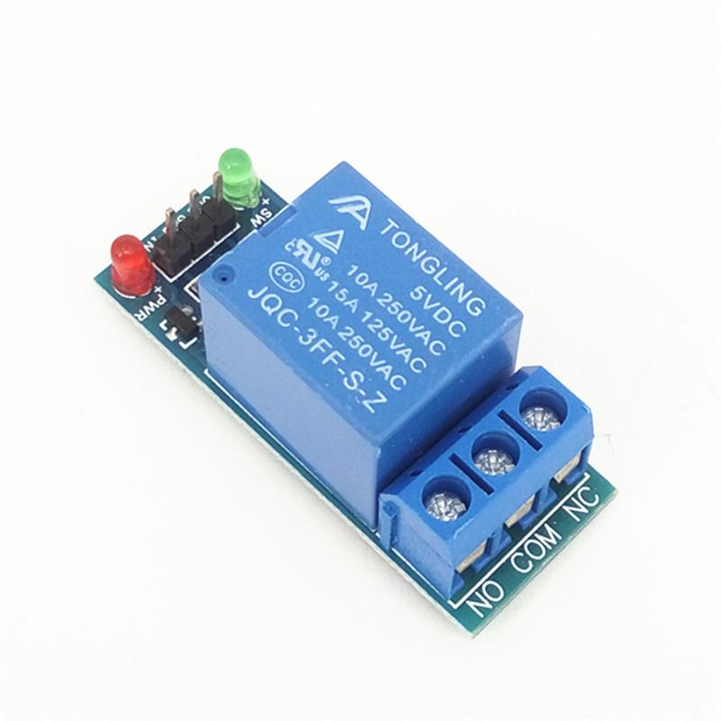 Single Channel Relay 1 Channel Relay 1-Way Relay Module 1CH 5V 10A Low trigger