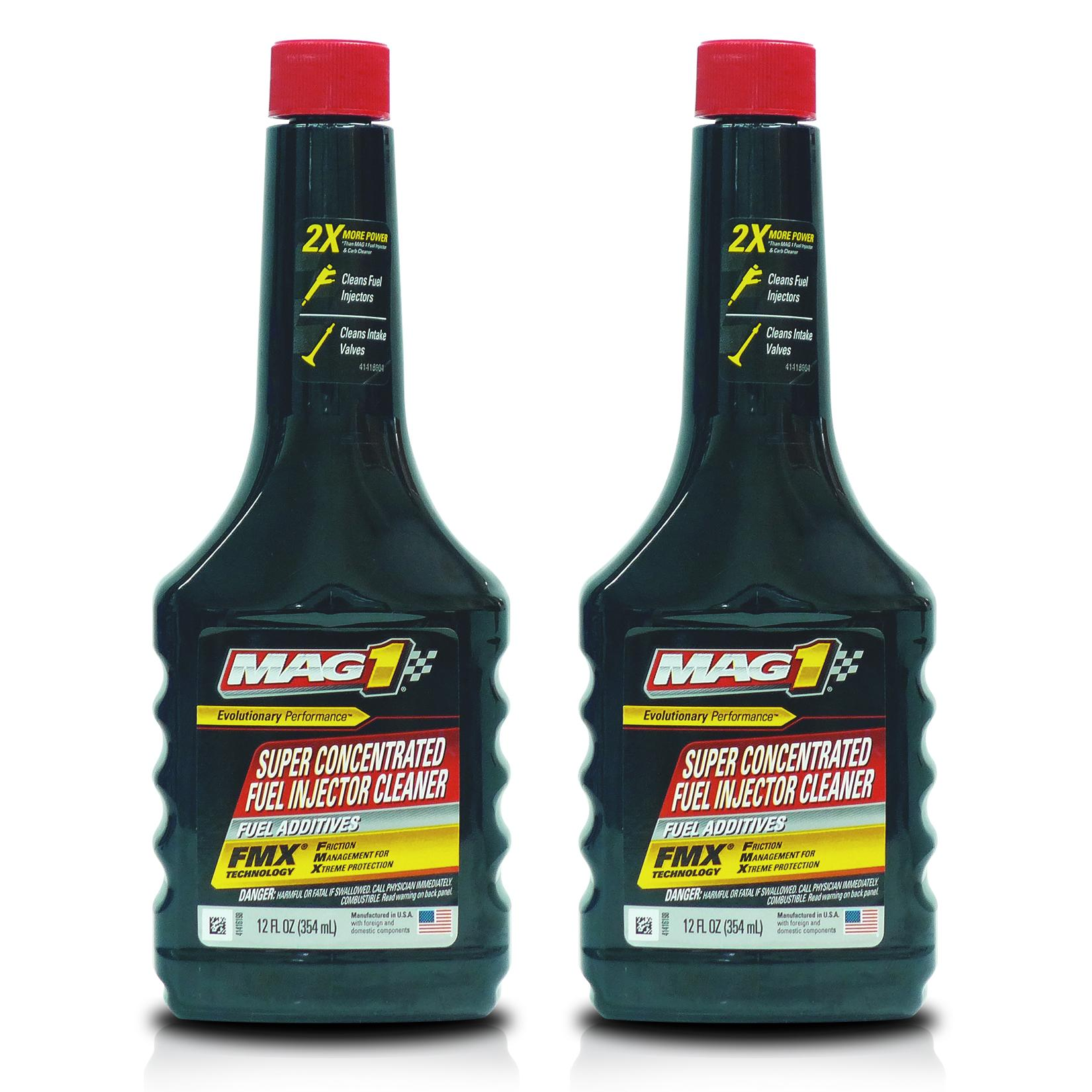 MAG 1 Super Concentrated Fuel Injector Cleaner 12oz (354ml) PN 147 (Pack of  2)
