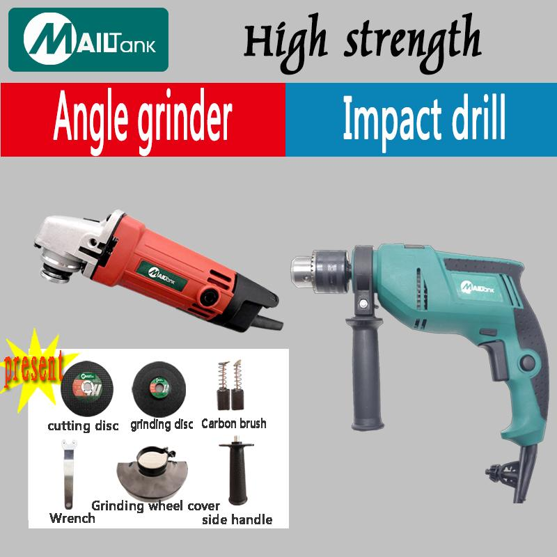 MAILTANK MILLTEC ANGLE GRINDER 954 AND Mailtank IMPACT Drill SH-09