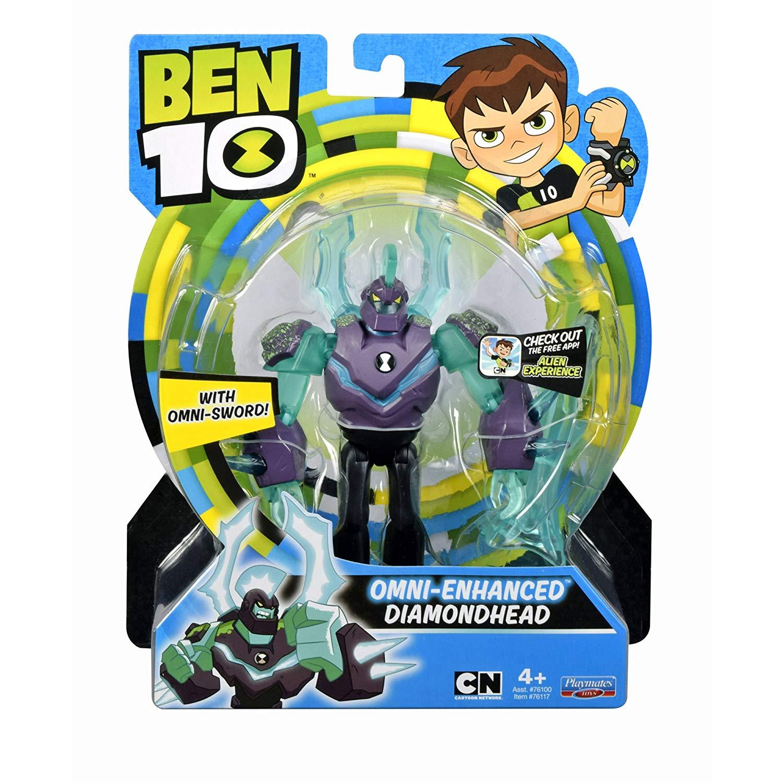 Ben 10 5 Inches Basic Action Figure Omni-Enhanced - Diamonhead