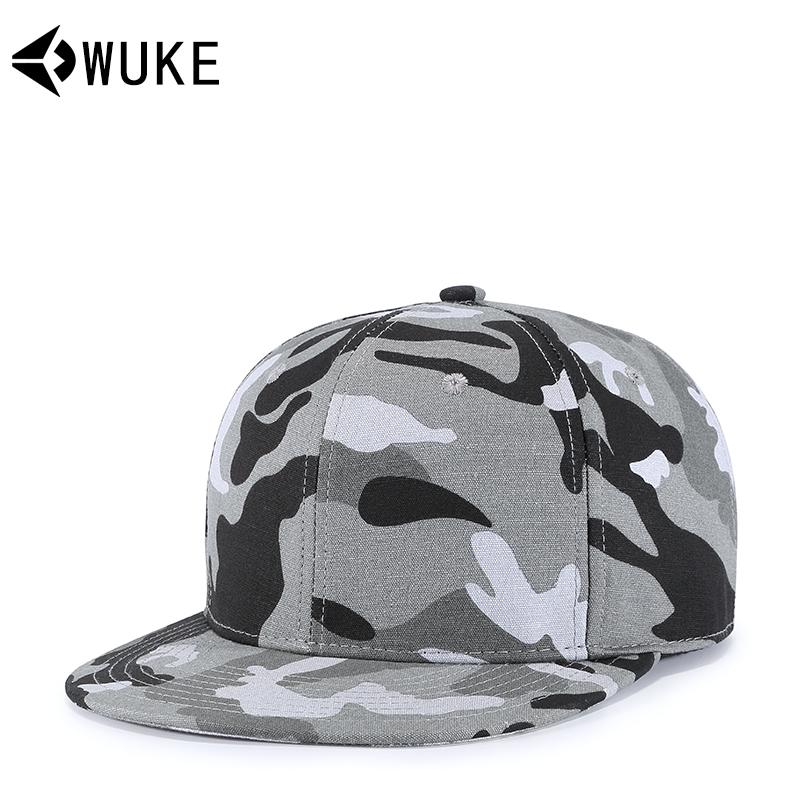 Wuke Korean Style New Products Camouflage Hat Men And Women Popular Brand  Hip Hop Hat Philippines d17d485297e