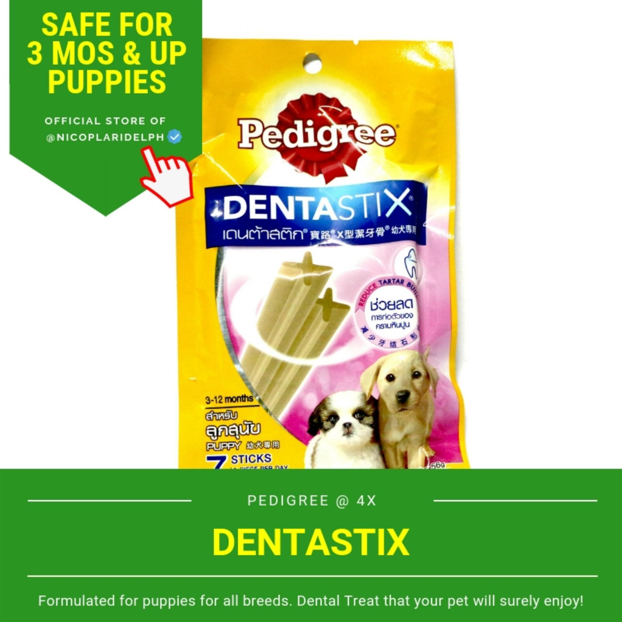 Pedigree Dentastix Original Flavor For Puppies (56g) By Nicoplaridelph.