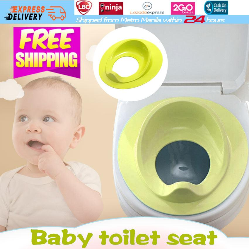 【Fast Delivery】Baby Toilet Bowl Seat Cover Training Potty for Kids Boys Girls Toddler