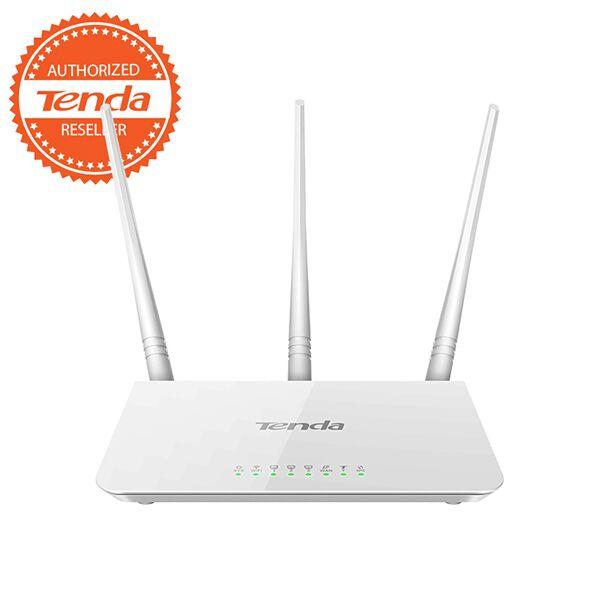 Tenda F3 300mbps Wireless Router (white) By Pc Home.