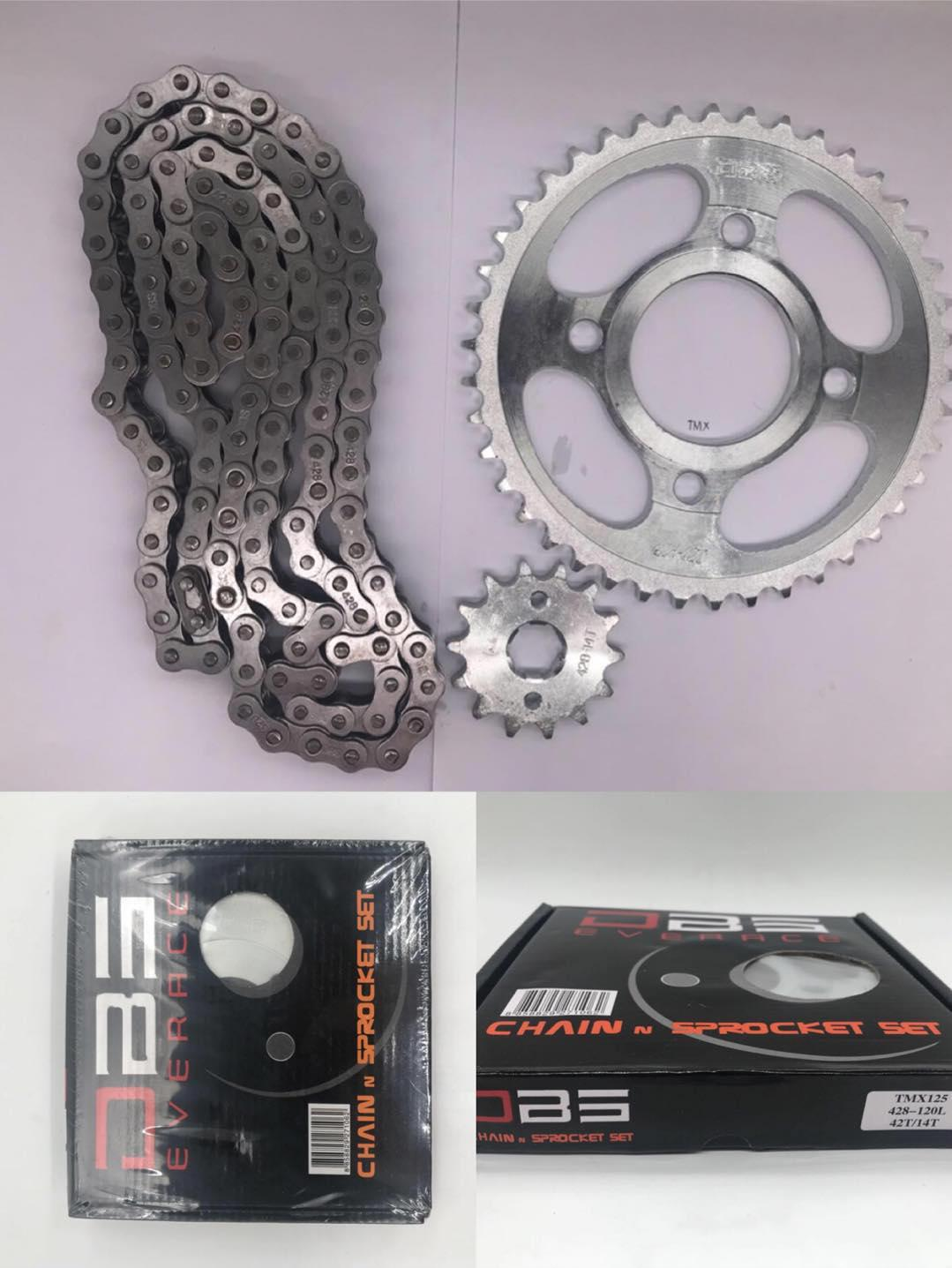 TMX chain and sprocket set 14/45T
