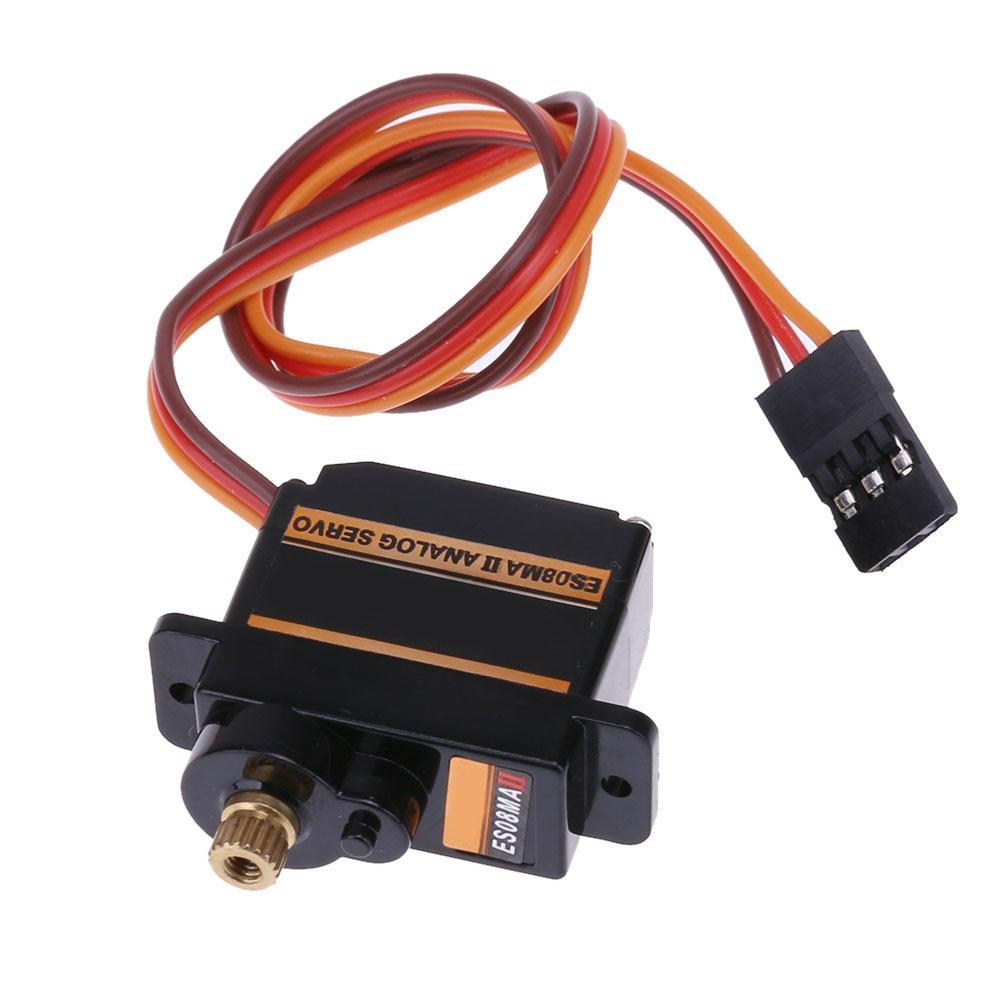 Dreamall Mini Size Metal Gear Analog Servo Es08ma Ii For Rc Motor Replacement Part By Dreamall.