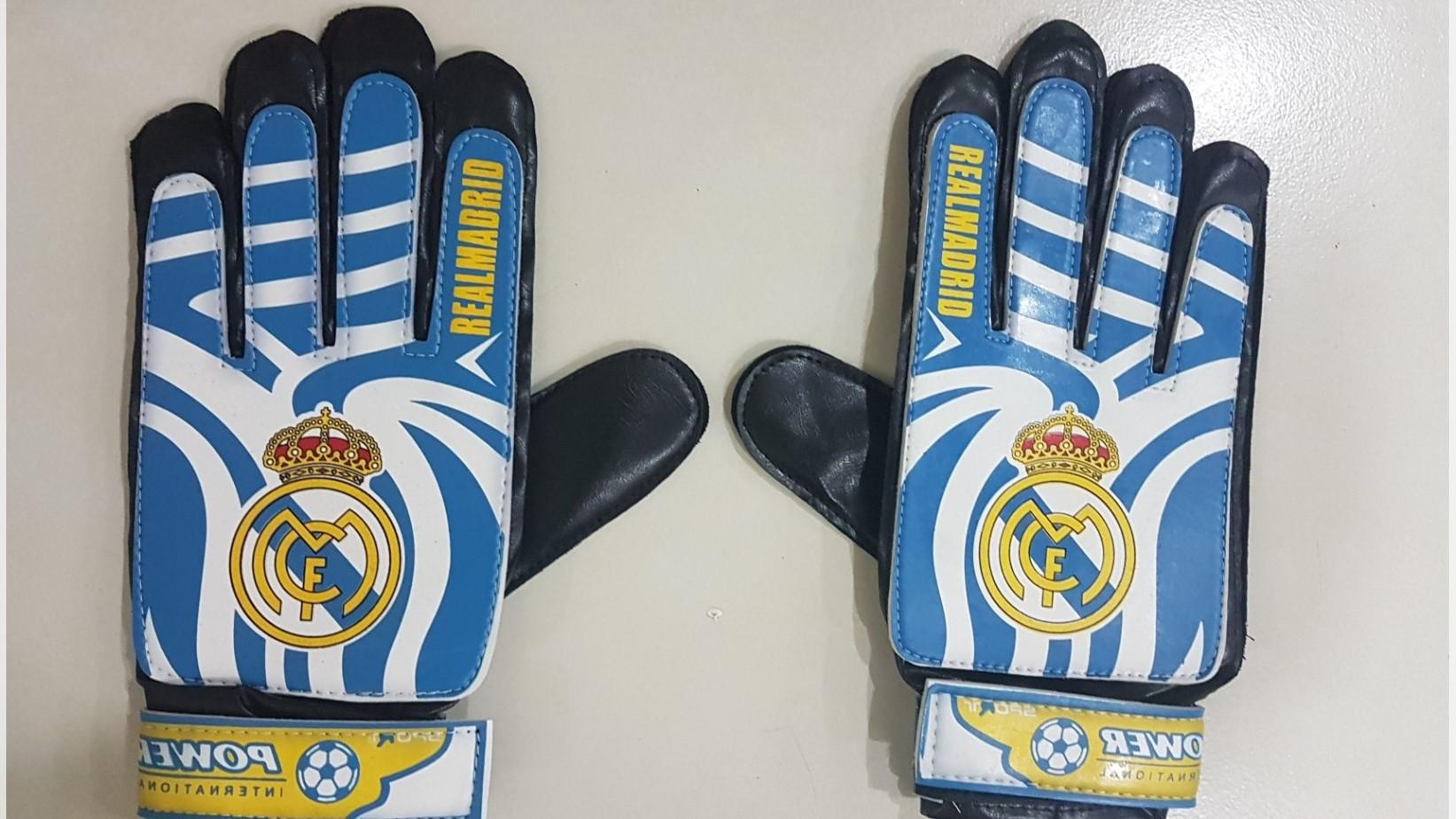Sports In Style Soccer Ball Goalkeeper Gloves Adult Size Blue By Sports In Style.