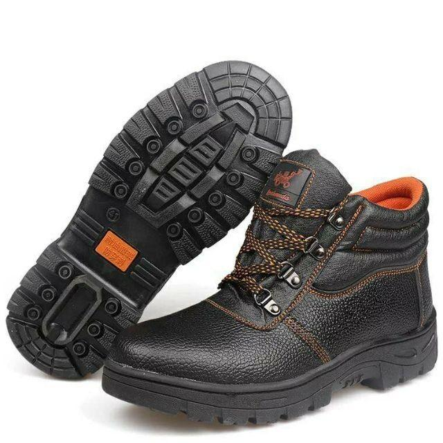 Safety Shoes Anti-Smashing Work Shoes Protect Shoes By Hjt General Merchandise.