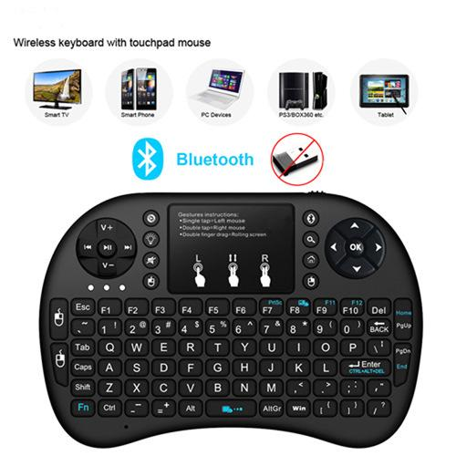 A-K I8 Mini 2.4Ghz Wireless Touchpad Keyboard With Mouse For Pc, Pad, Xbox