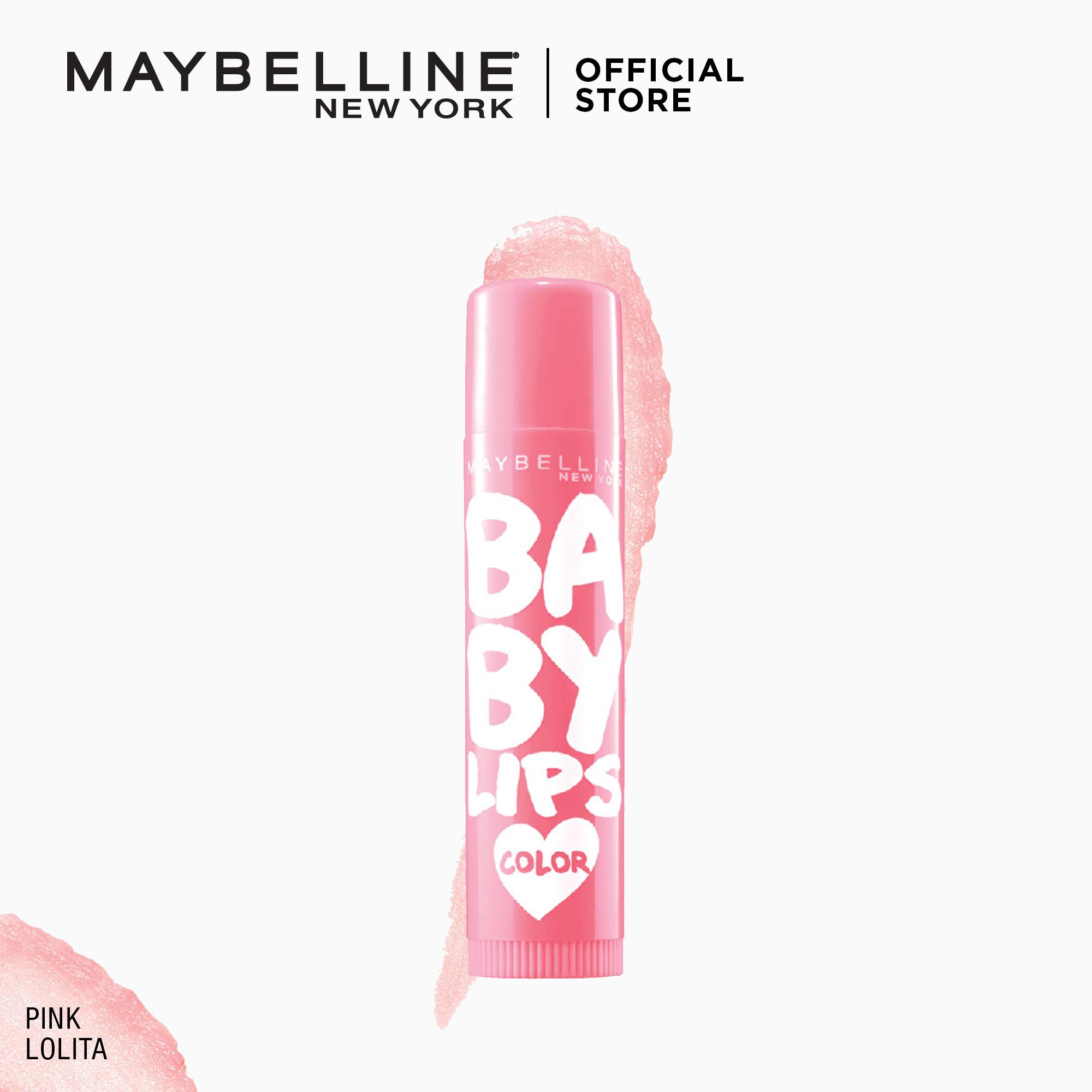 Lip Balm Brands Treatment On Sale Prices Set Reviews In Vaseline Therapy Tiny Tube Rosy Lips Maybelline Baby Loves Color Pink Lolita