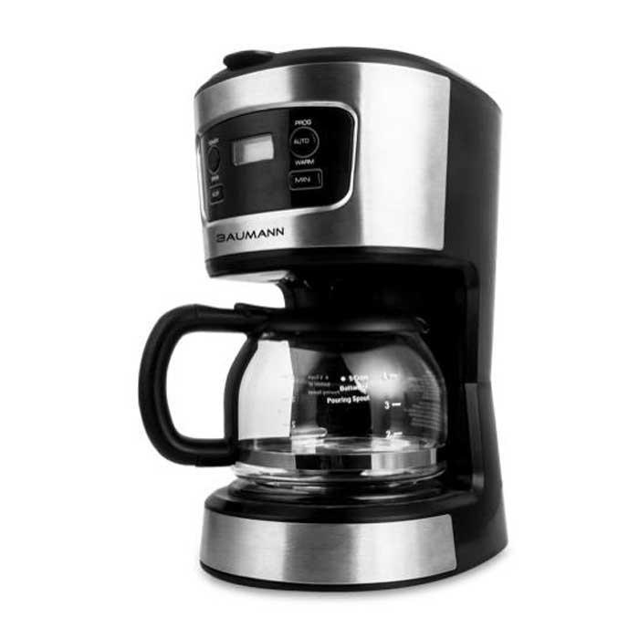Usa / Baumann 5-Cup Programmable Coffee Maker Bm-Cm1082tcb By Souq Ph.