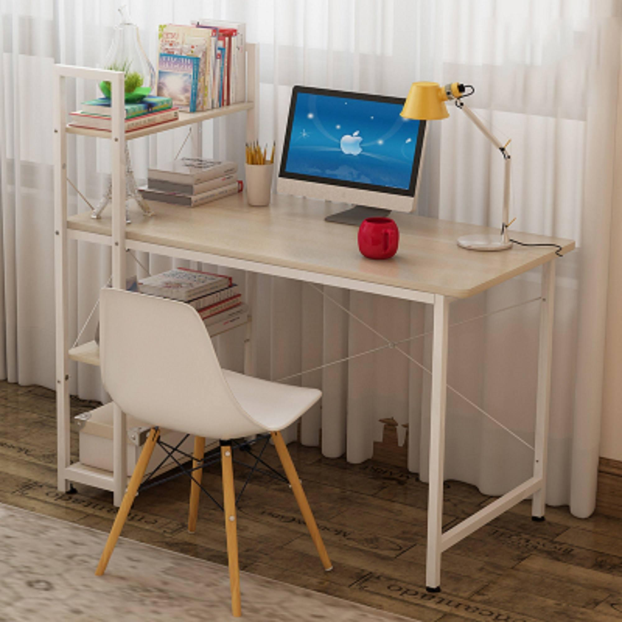 office desk table. clifton tb-60wm white maple wood 60x120cm computer desk table office desk table