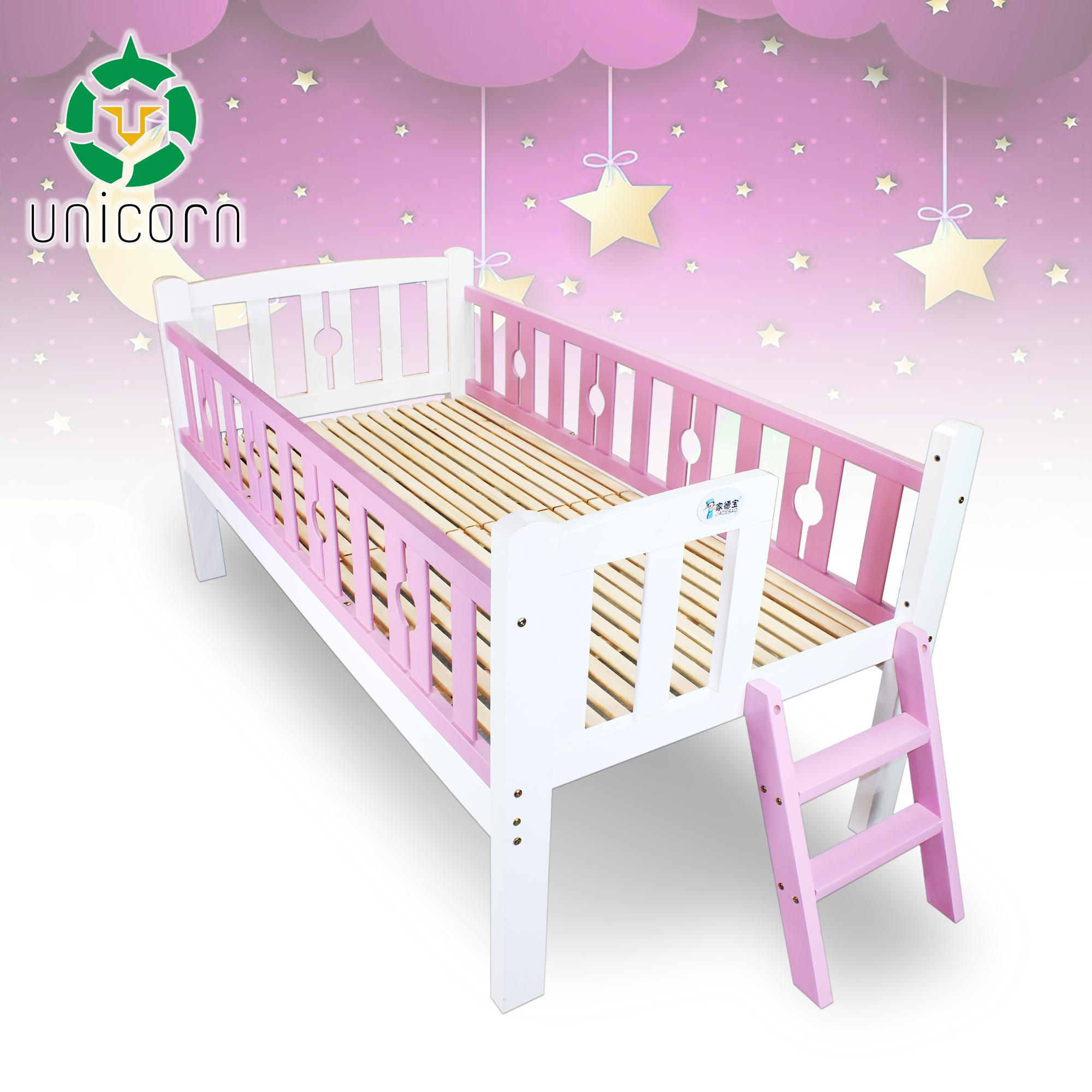 Unicorn Tc-516 2-In-1 Children Toddler Wooden Bed Crib By Unicorn Selected.