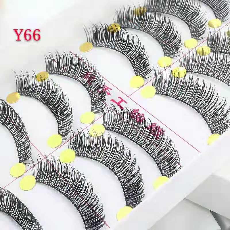 Taiwan False Eyelashes (y66) By Lazest Shopping.