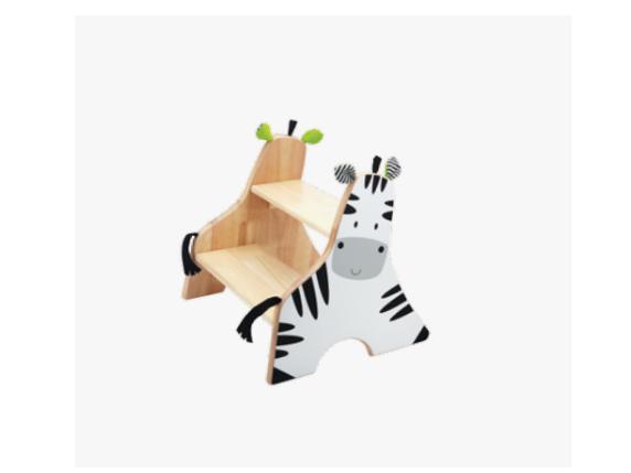 Wonderworld Zebra Step Stool By Kchingx.