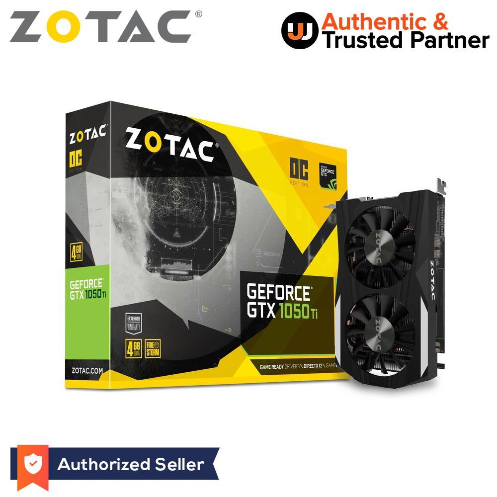 Zotac GeForce GTX 1050 Ti OC Edition 4GB 128-bit GDDR5 (ZT-P10510B-10L)