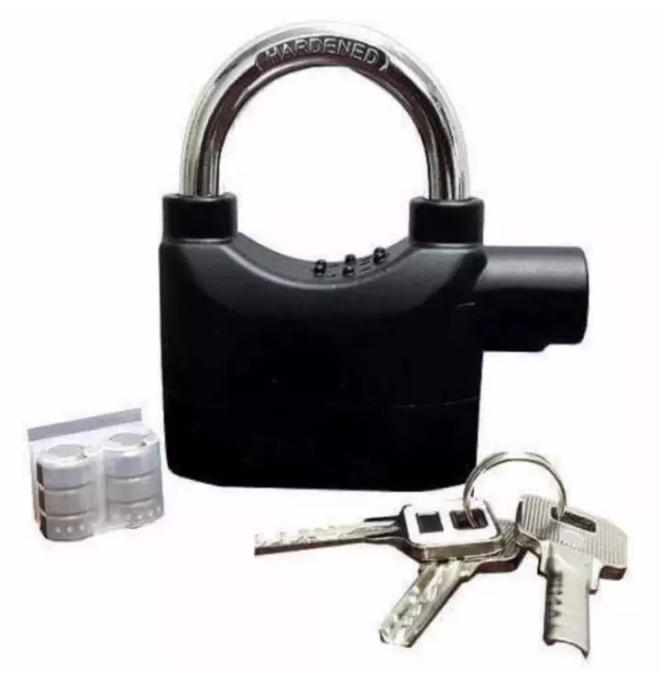 Waterproof Siren Alarm Lock Security Motorcycle Bike Bicycle Padlock Anti-Theft By Myshop.ph.