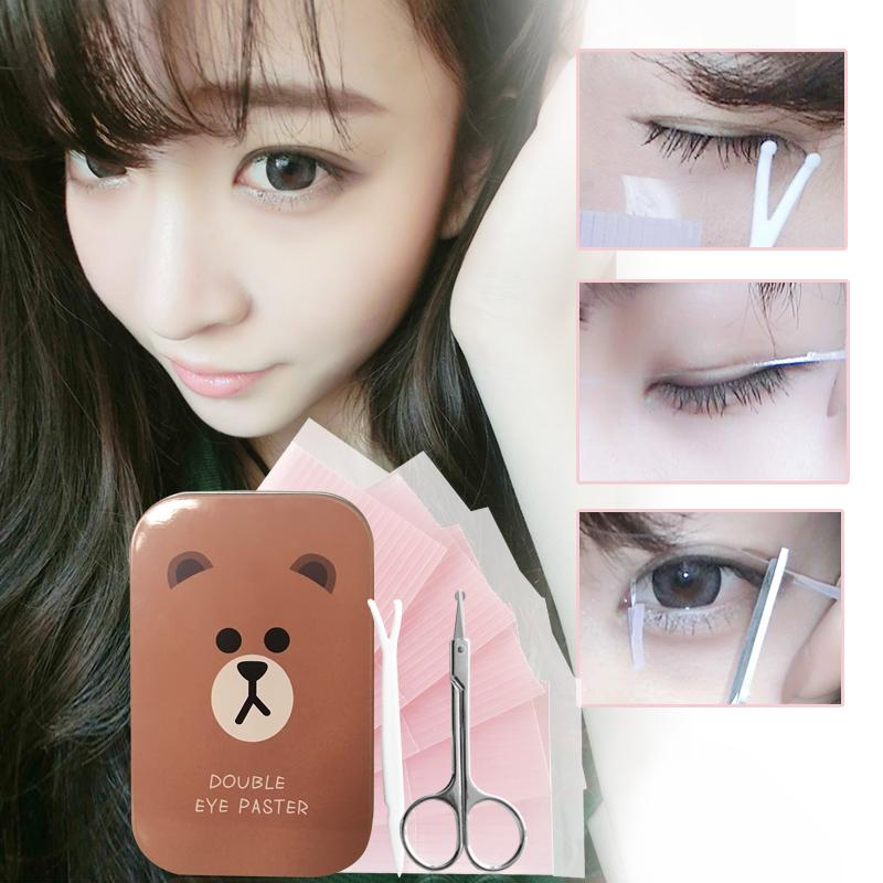 Brushed double eyelid sticker hidden fiber wei tiao Philippines