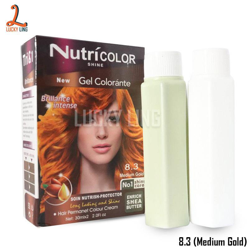 Nutricolor Brillance Intense Hair Color Dye (30ml) By Lucky Ling.