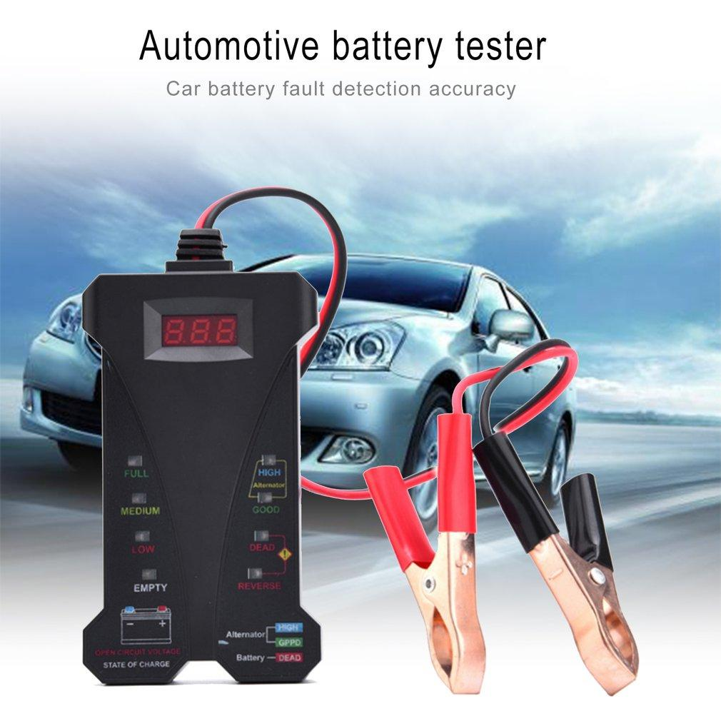Car Battery Tester For Sale Load Online Brands Automotive Voltage Indicator Portable 12v Digital Charging System Analyzer With Led Display